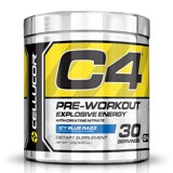 cellucor c4 extreme pre workout icy blue razz 195g