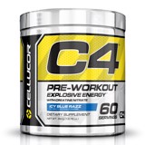 cellucor c4 extreme pre workout icy blue razz60 servings