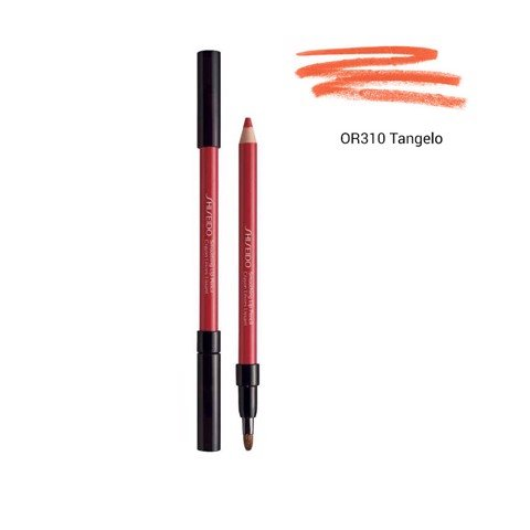chi ke vien moi shiseido smoothing lip pencil or310 tangelo