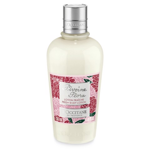 duong the hoa mau don l occitane pivoine flora fresh body lotion 200ml