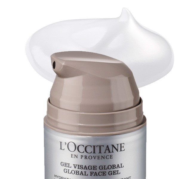 gel duong am toan dien loccitane cedrat global face gel 50ml