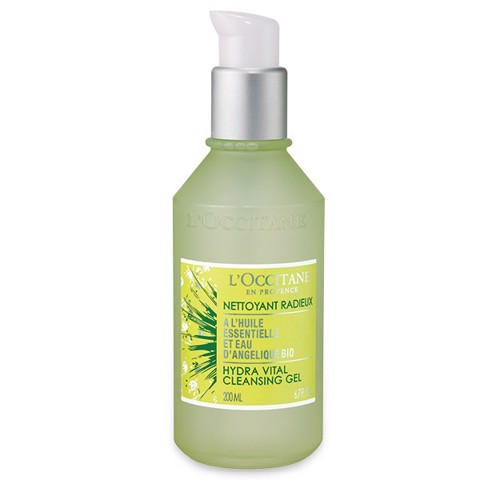 gel rua mat l occitane angelica cleansing gel 200ml