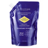 gel rua mat tao bot l occitane immortelle precious cleansing foam 300ml
