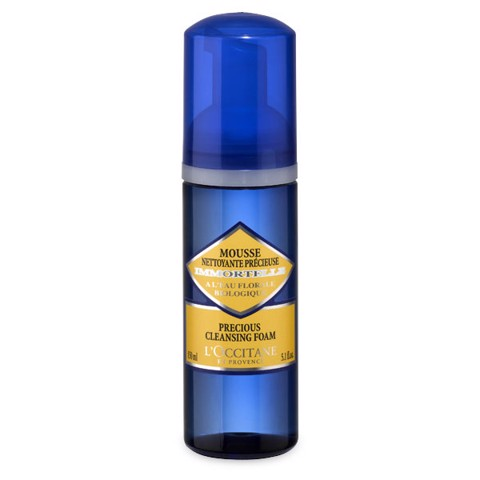 gel rua mat tao bot l occitane precious cleansing foam 150ml