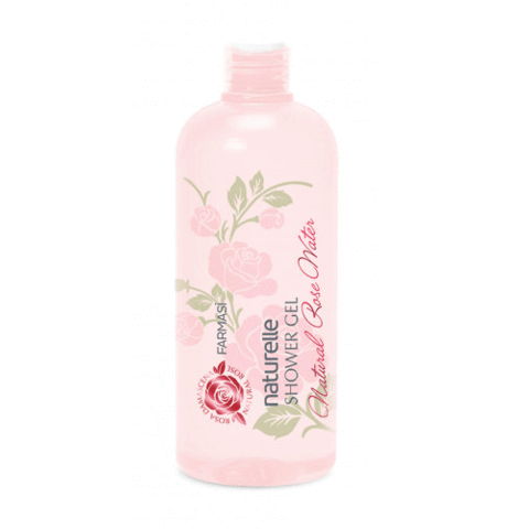 Naturelle Revitalizing Natural Rose Water Shower Gel 375ml