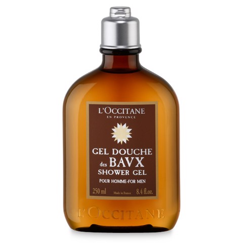 gel tam danh cho nam l occitane eau des baux shower gel 250ml
