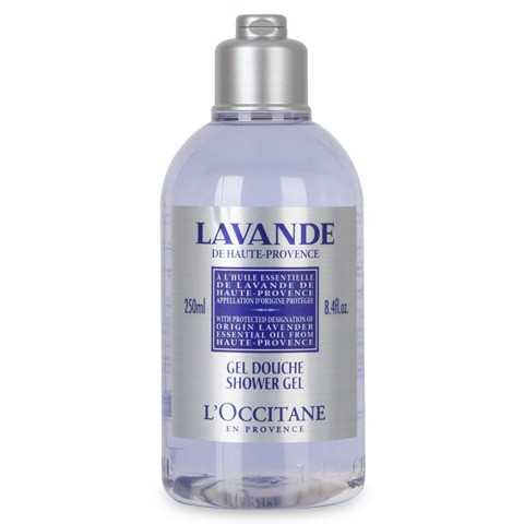 gel tam hoa oai huong loccitane lavender organic shower gel 250ml