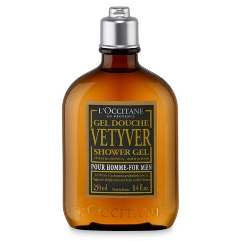 gel tam huong go loccitane vetyver shower gel 250ml