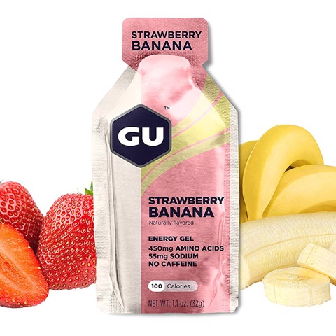 GU GEL, strawberry banana