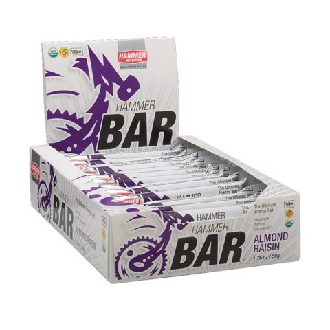 Hammer Bar Almond Raisin Box 12 packs