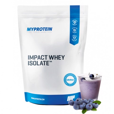 Impact Whey Isolate Blueberry 5kg/11lb/200sers