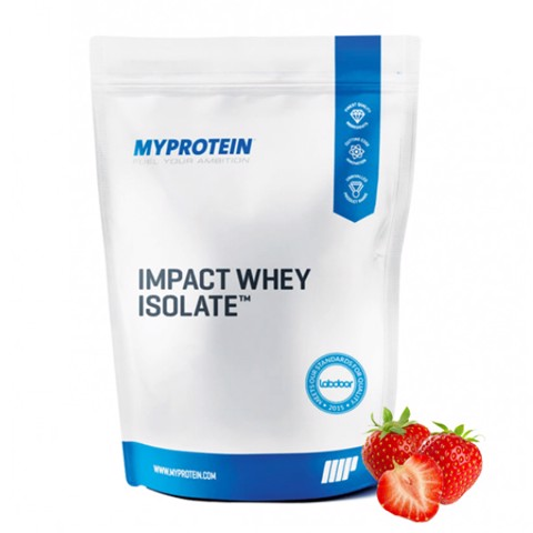 My Protein Impact Whey Isolate Strawberry Cream 2.5kg