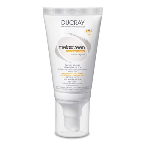 Ducray Melascreen Photoprotection Light Cream SPF50+