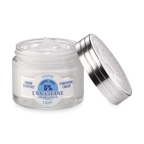 kem duong am loccitane shea light comfort 50ml 2