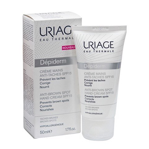 Uriage Depiderm Creme Mains Anti-taches SPF15 50ml