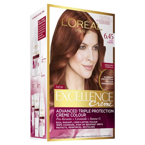 Loreal Excellence Creme 6 45 Light Auburn