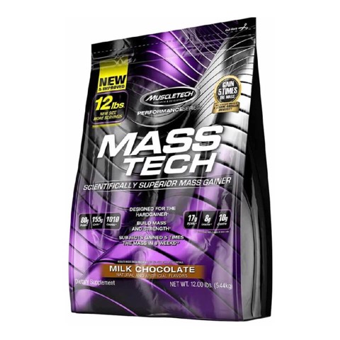 muscletech mass tech performance series chocolate 12lbs