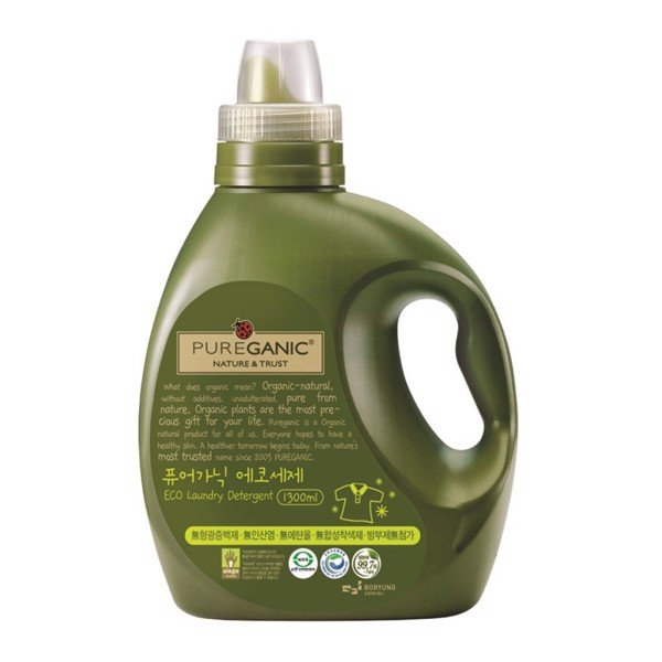 Pureganic Eco Laundry Detergent Bottle 1300ml