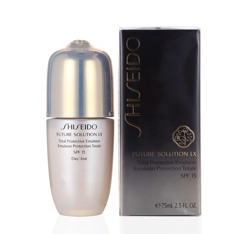 sua duong da nang shiseido future solution lx total protective emulsion 75ml