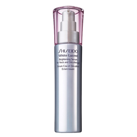 shiseido white lucent brightening serum for neck and decolletage 75ml