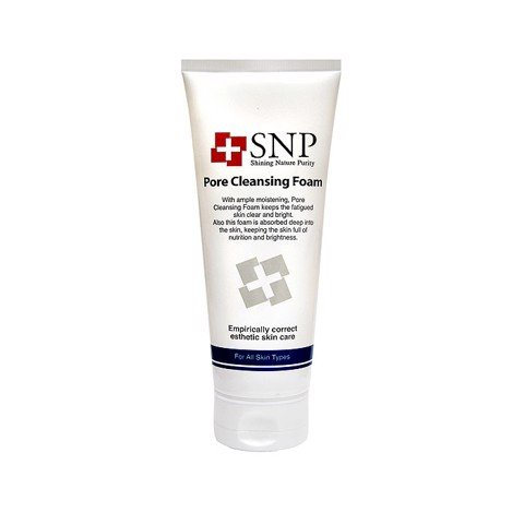 sua rua mat se khit lo chan long snp pore cleansing foam 150ml