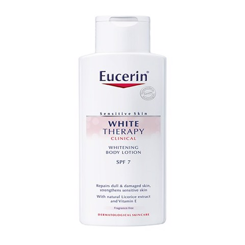 sua duong the trang da eucerin white therapy spf 7 250ml