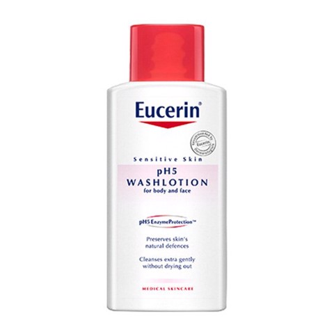 sua tam eucerin ph5 washlotion danh cho da nhay cam co mui 200ml