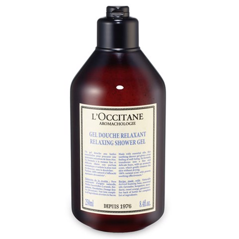 sua tam thu gian loccitane aromachologie relaxing shower gel 250ml