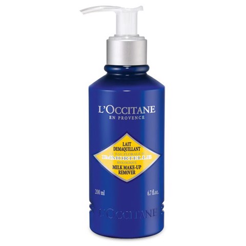 sua tay trang l occitane immortelle milk makeup remover 200ml