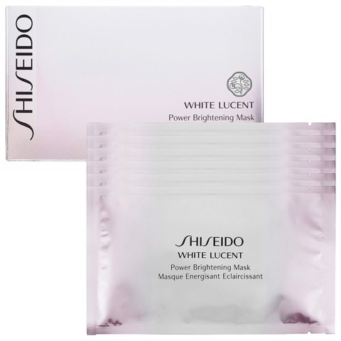 mat na lam trang da shiseido white lucent power brightening mask 6 mieng
