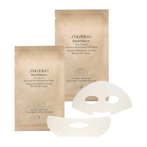 mat na shiseido benefiance pure retinol intensive revitalizing face mask