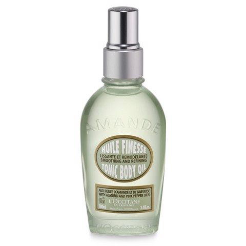 tinh dau tri da san vo cam loccitane almond tonic body oil 100ml
