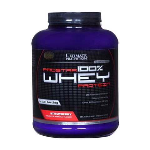 Prostar 100% Whey Strawberry 2.29kg