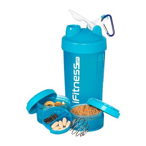 binh lac iFitness Pro Shaker 4-in-1