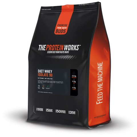 The Protein Works Diet Whey Isolate 90 3