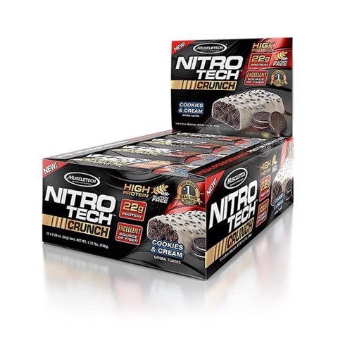 Nitro-Tech Crunch Bar Chocolate Chip Cookie Dough