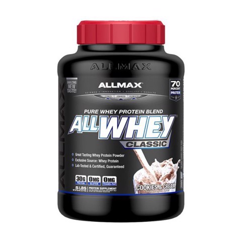 Allmax Allwhey Classic Cookie and Cream 5lbs