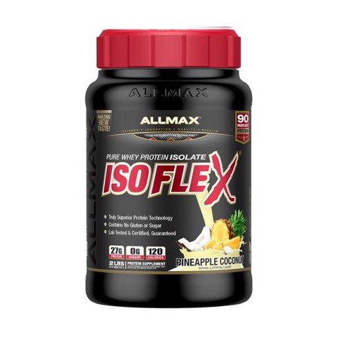 AllMax Nutrition IsoFlex Pineapple coconut 2lbs
