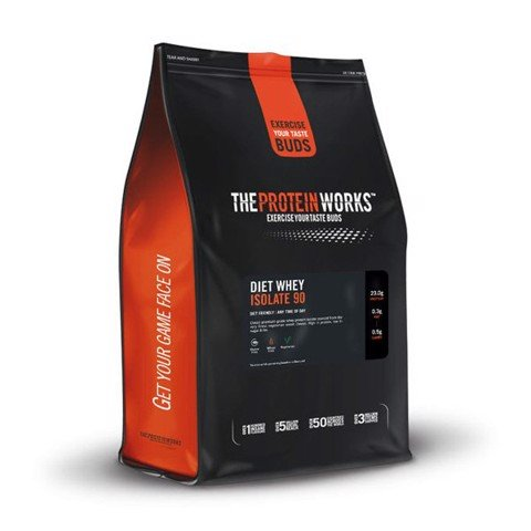 he Protein Works Diet Whey Isolate 90