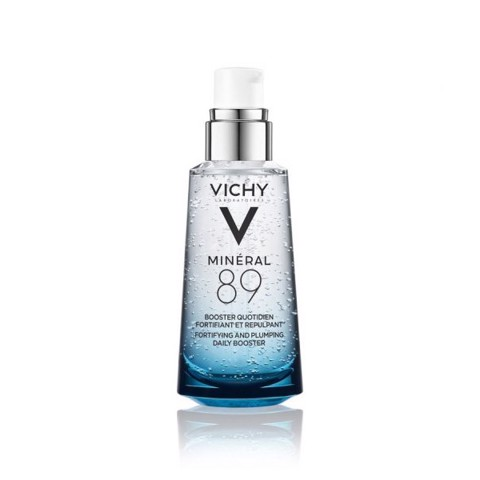 Bộ Dưỡng Chất Khoáng Cô Đặc Phục Hồi Và Nuôi Dưỡng Da Vichy Mineral 89 (50ml) + Tặng Khăn Tắm Vichy - VVN00223
