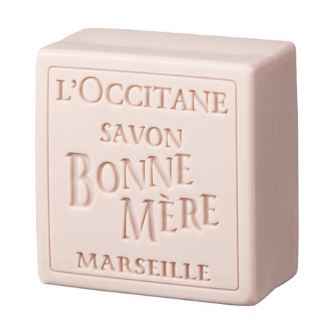 xa phong hoa hong l occitane bonne mere rose 100g