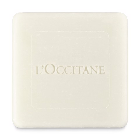 xa phong l'occitane shea butter extra gentle soap milk 100g 02