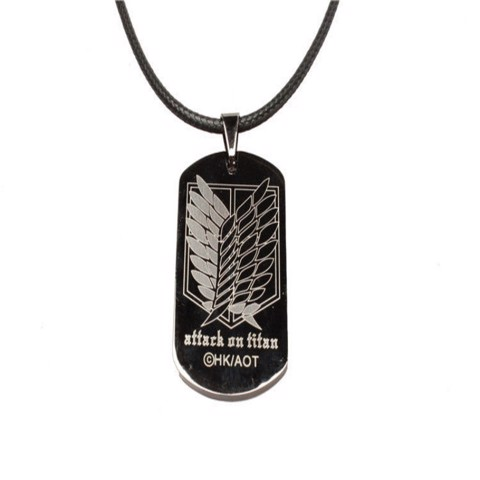 Dây chuyền Dogtag Attack Of Titan