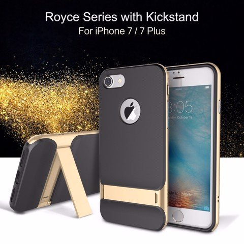Ốp Lưng Chống Sốc Iphone 7 Plus Rock Royce With Kickstand Cao Cấp