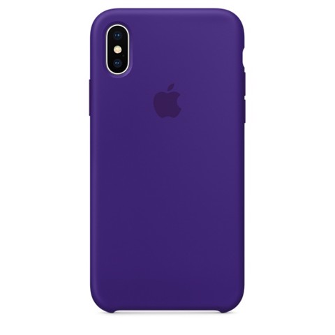 Ốp Zin Apple Silicon Case Iphone X Cao Cấp Hàng Đẹp Nguyên Seal