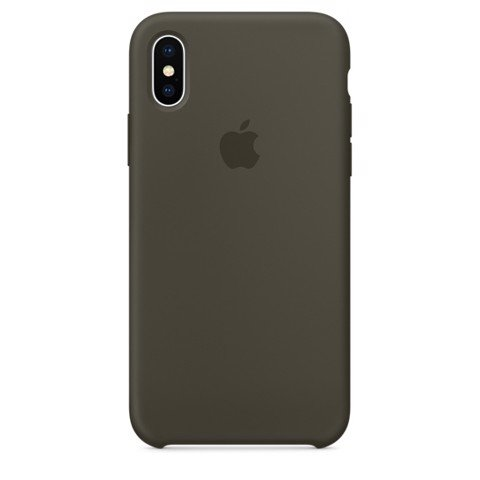 Ốp Zin Apple Silicon Case Iphone Xs Max Cao Cấp Hàng Đẹp Nguyên Seal