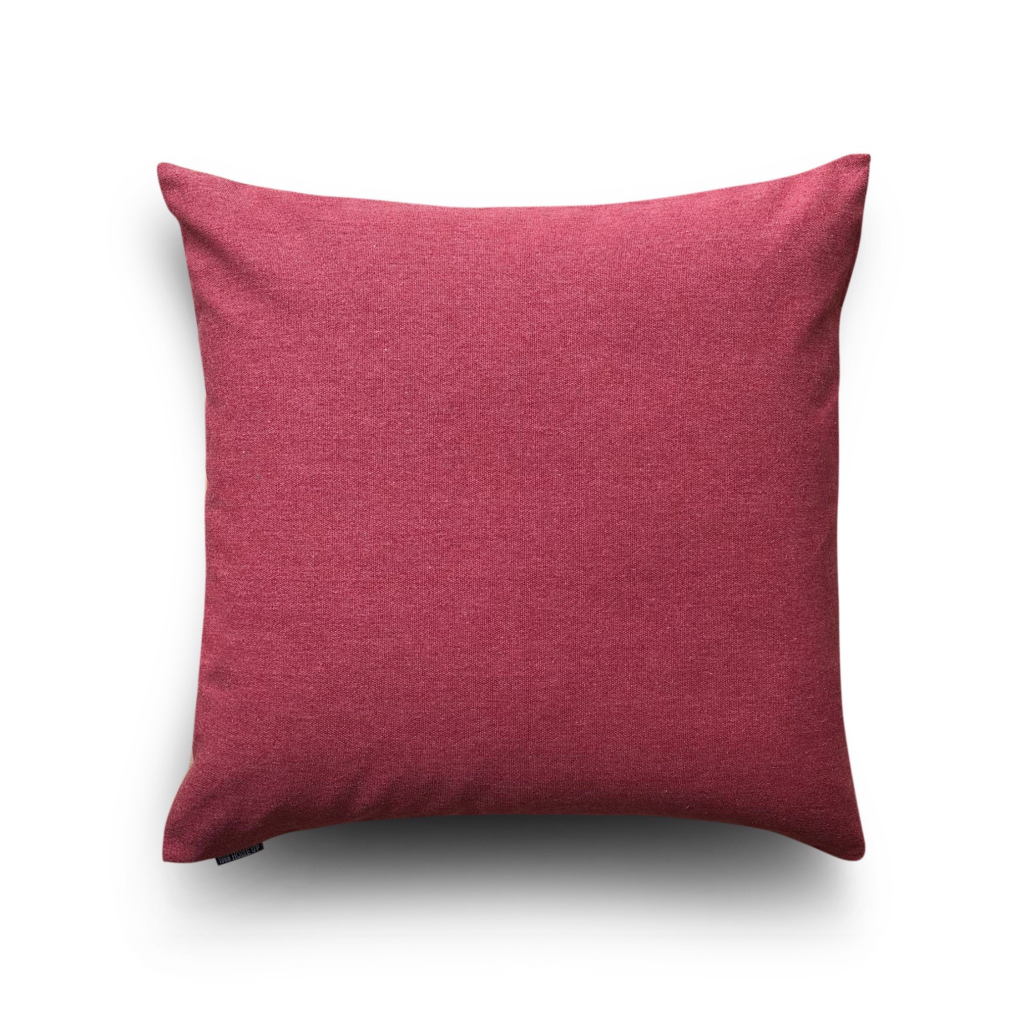 Cushion cover 01 Cardinal red