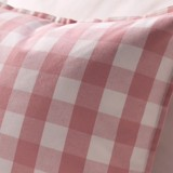 Cushion cover 83 Pink checkerboard