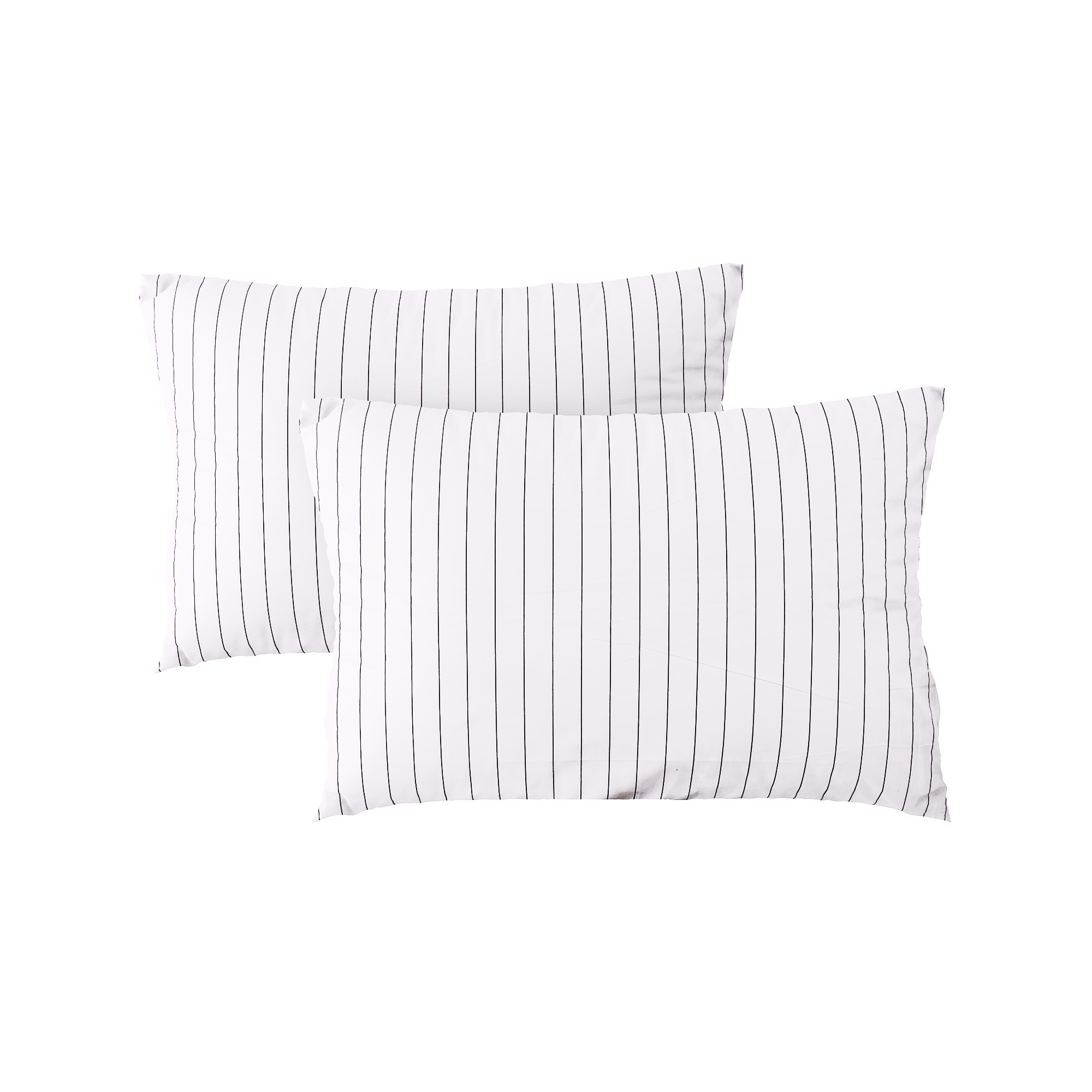 Pillow case 067 Black stripe on white