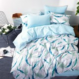 Best price 093 Blue palm leaves